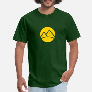 Peak Mountain peak - Men's T-Shirt