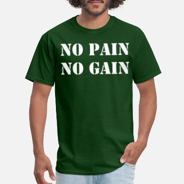 Crossfit No Pain No Gain - Men's T-Shirt
