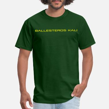 Ballesteros Kali Apparel Yellow - Men's T-Shirt