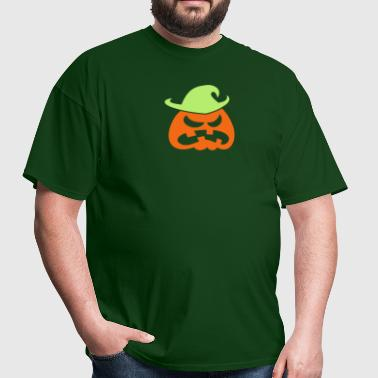 Angry Halloween Scarecrow - Men's T-Shirt