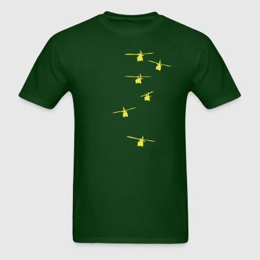 Helicopter Squadron - Men's T-Shirt