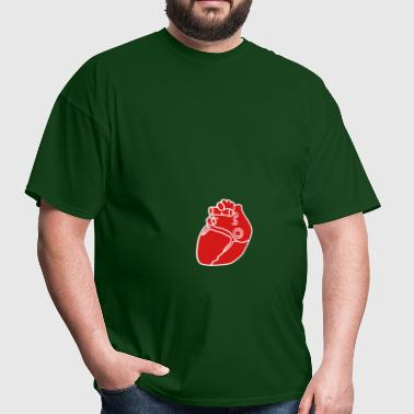 Small anatomical heart - Men's T-Shirt