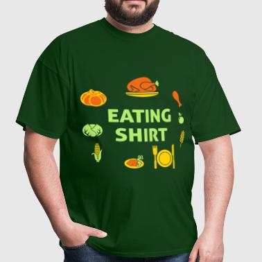 Eating Shirt - Men's T-Shirt