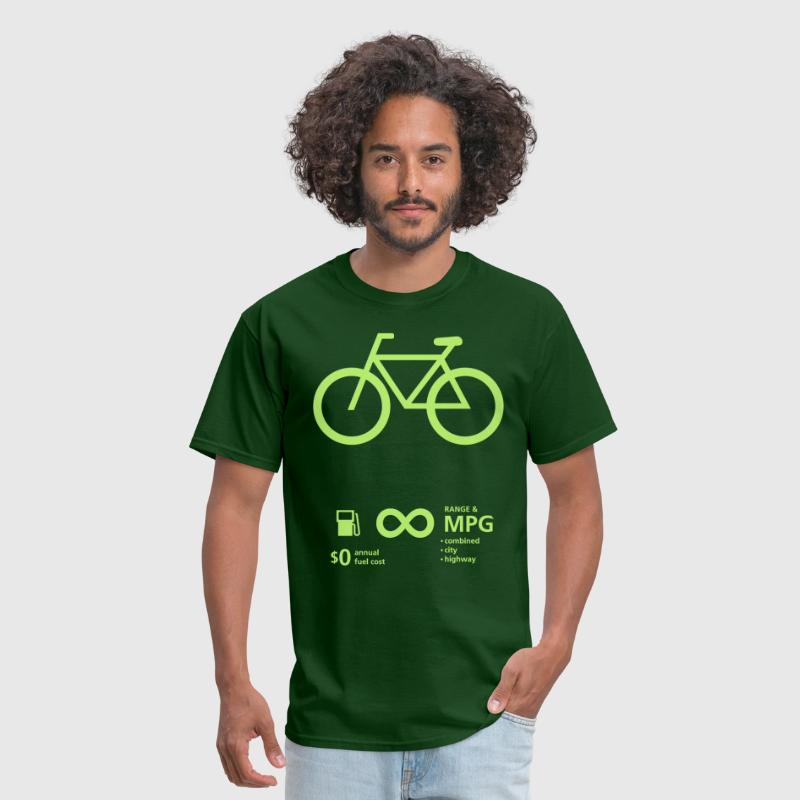 Bicycle Fuel Economy - Men's T-Shirt