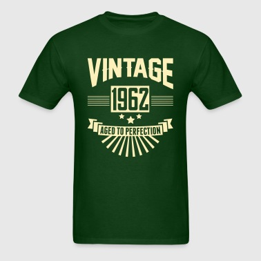 VINTAGE 1962 - Aged To Perfection - Men's T-Shirt