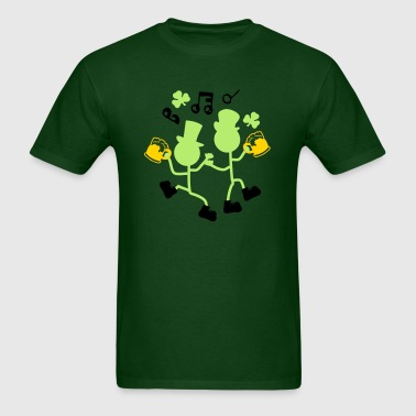 Cheers Irish drinker st.Patty's day - Men's T-Shirt
