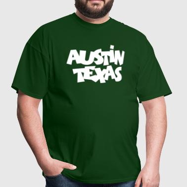 Austin Texas - Men's T-Shirt