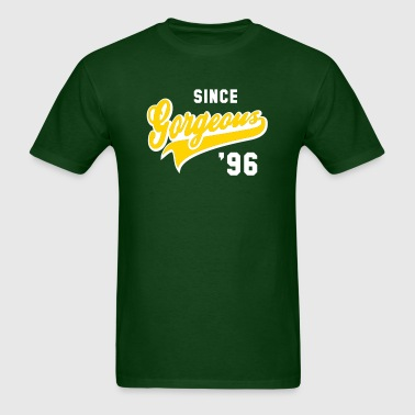 Gorgeous SINCE 1996 Birthday Anniversary - Men's T-Shirt