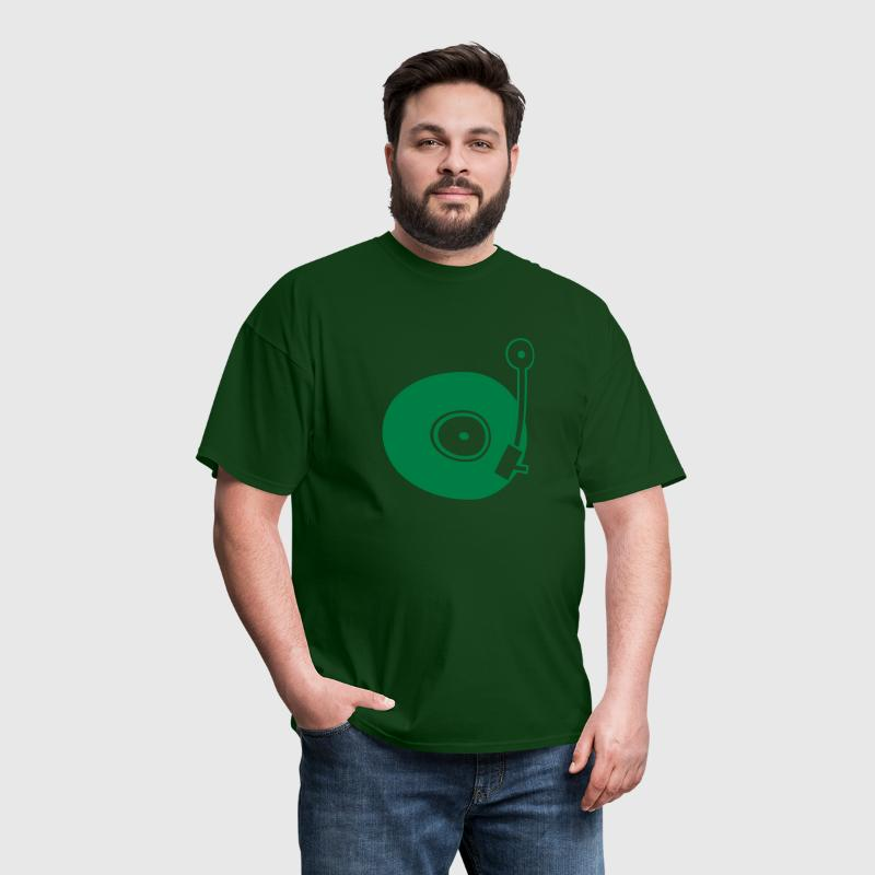 Vinyl Turntable - Men's T-Shirt