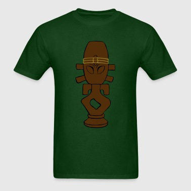 Horga'hn (Three Colour) - Men's T-Shirt