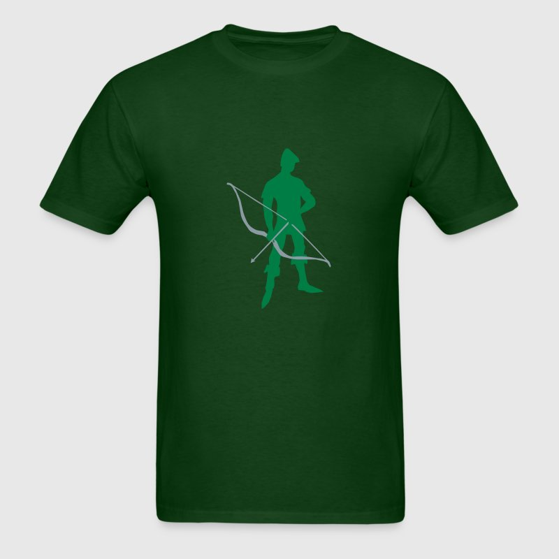 Archer Recurve Bow by patjila2 - Men's T-Shirt