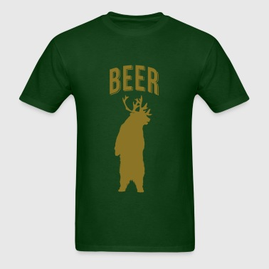 BEER DEER - Men's T-Shirt