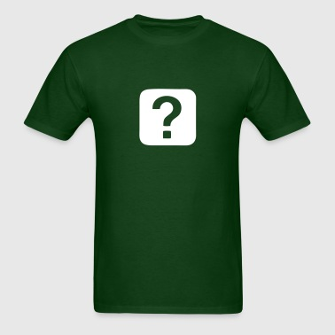 Question Mark - Question - Men's T-Shirt