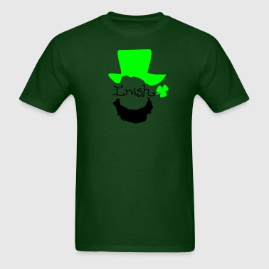 Irish man shamrock st.Patrick's day - Men's T-Shirt