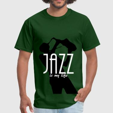 jazz is my life - Men's T-Shirt