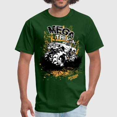 Mega Mud Truck - Men's T-Shirt