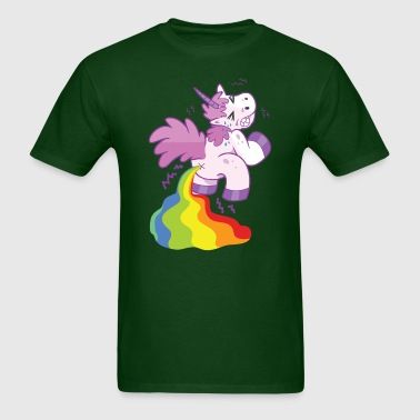 Unicorn Magical Rainbow Poop - Men's T-Shirt