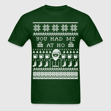 Ugly Christmas Sweater - Men's T-Shirt