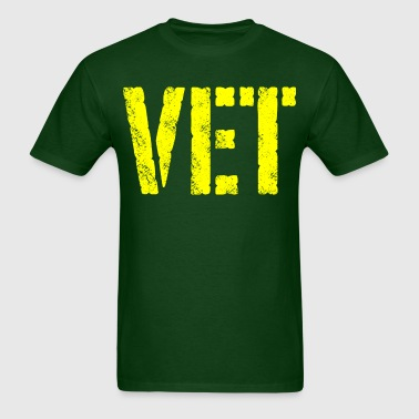 Military veteran VET - Men's T-Shirt