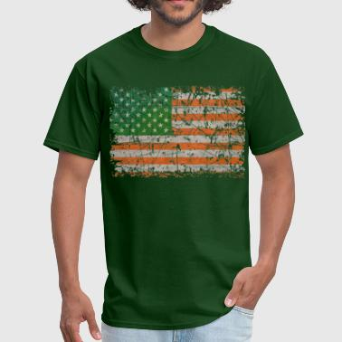 Irish States Of America - Men's T-Shirt