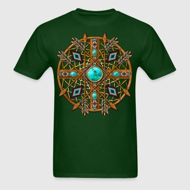 Tribal Mandala 08 - Men's T-Shirt