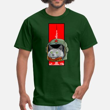 Russian Blue Space Progam - Men's T-Shirt