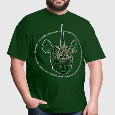greenknotrhino - Men's T-Shirt
