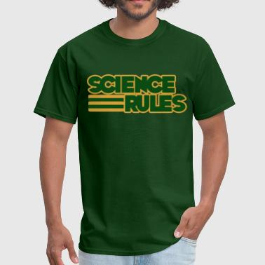 Science Rules - Men's T-Shirt