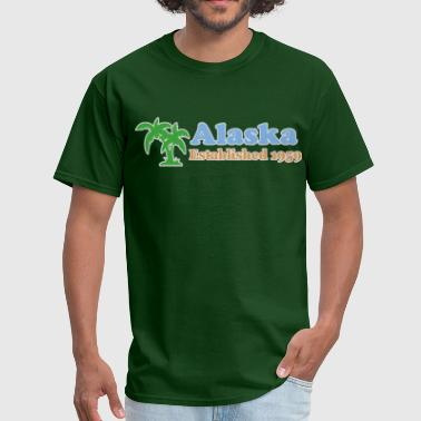 Alaska Is Home Alaska - Men's T-Shirt