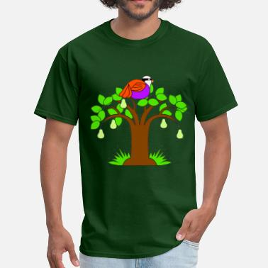 Pear Trees A Partridge in a Pear Tree - Men's T-Shirt