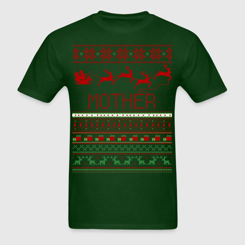 Mother Ugly Christmas Sweater Xma - Men's T-Shirt