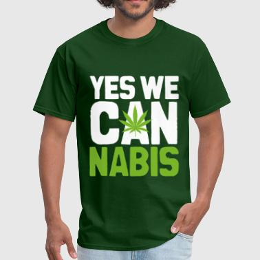 Yes We Cannabis Dark - Men's T-Shirt
