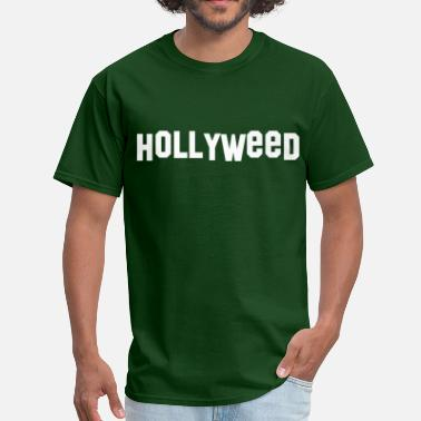 Hollywood Hills Hollyweed - Men's T-Shirt