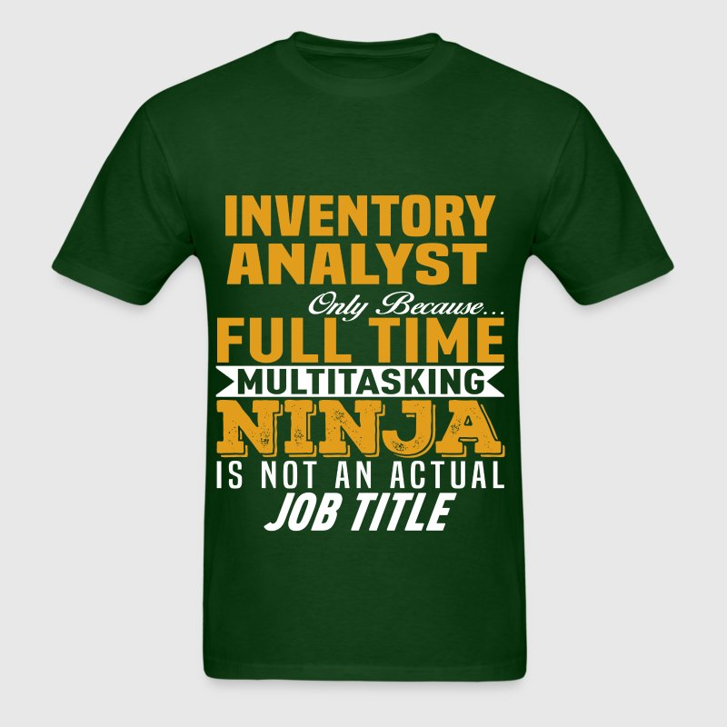 Inventory Analyst by bushking | Spreadshirt