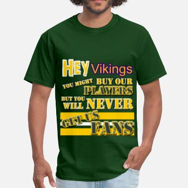 cb5139b6 Sconsinwear Captain Northwoods T-Shirts. from $31.49. Packers Hey Vikings!