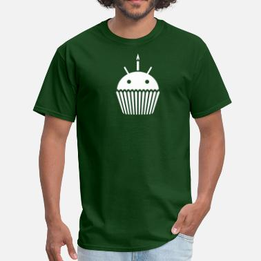 Android Open Source Droid Cupcake - Men's T-Shirt