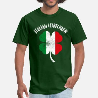 Italia Italian Leprechaun - Men's T-Shirt