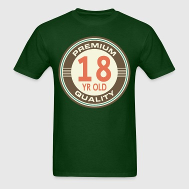 18th Birthday vintage - Men's T-Shirt