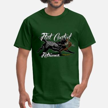 Flat Coated Retriever flat_coated_retriever - Men's T-Shirt