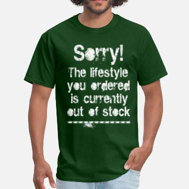 Out-of-stock Lifestyle is out of stock (white) - Men's T-Shirt