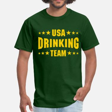 Usa Drinking Team USA Drinking Team - Men's T-Shirt