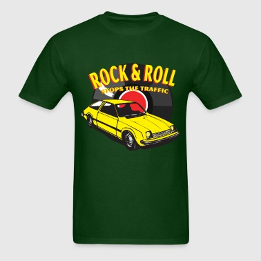 Rock & Roll Stops the Traffic - Men's T-Shirt