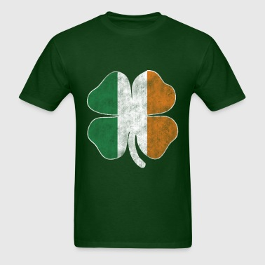 Grunge Shamrock - Men's T-Shirt