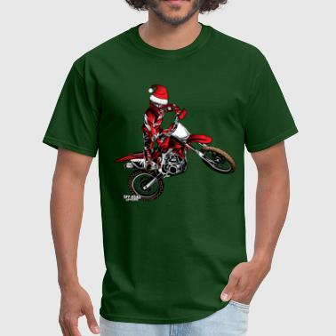 Dirtbike  Dirtbiker Christmas - Men's T-Shirt