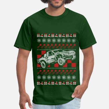Trophy Pro Race Truck Christmas - Men's T-Shirt