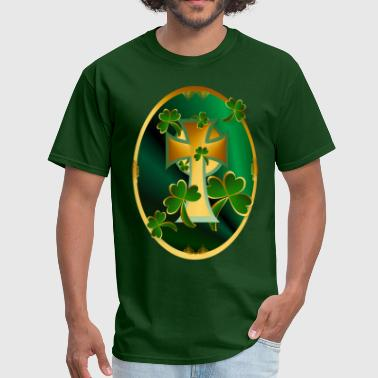 Happy St. Patrick's Day to you!-dark - Men's T-Shirt