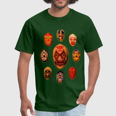 MIL MASKS - Men's T-Shirt