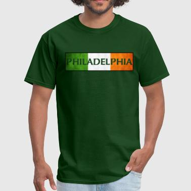 Philadelphia Irish Apparel Philadelphia Irish Flag Shirts Apparel Tees - Men's T-Shirt