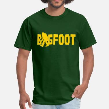 Bigfoot Humor Bigfoot - Men's T-Shirt