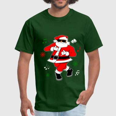Black Santa Ju Ju Dance - Men's T-Shirt